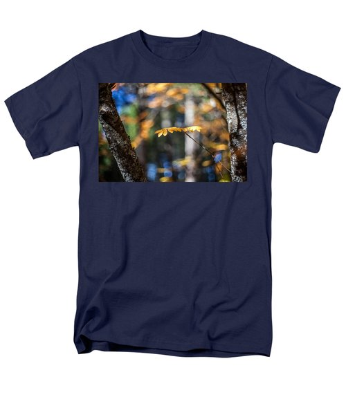 Men's T-Shirt  (Regular Fit) featuring the photograph Fall Suspended by Aaron Aldrich
