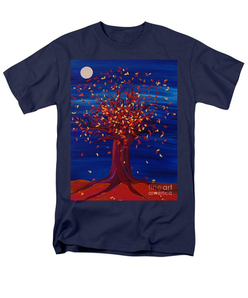 Fall Tree Fantasy By Jrr Men's T-Shirt  (Regular Fit) by First Star Art