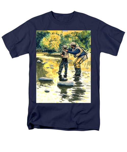 Father And Son Men's T-Shirt  (Regular Fit)