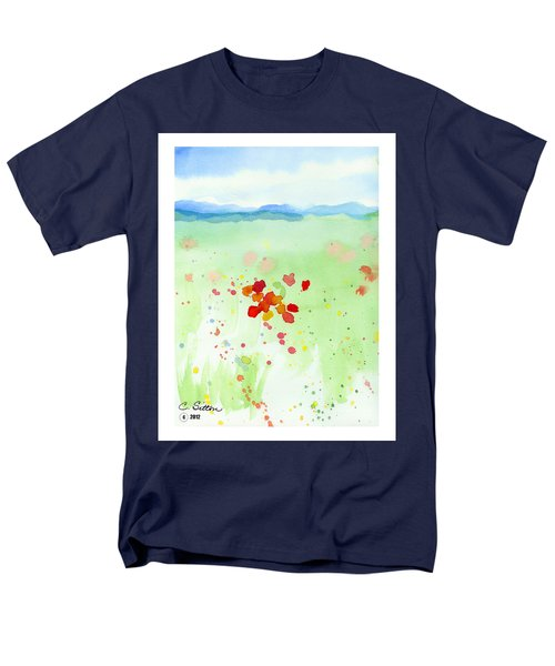 Field Of Flowers 2 Men's T-Shirt  (Regular Fit) by C Sitton