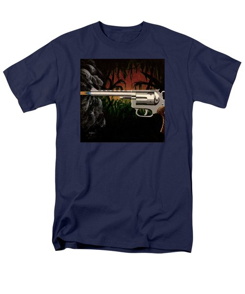 Fire In The Jungle Men's T-Shirt  (Regular Fit) by Jack Malloch