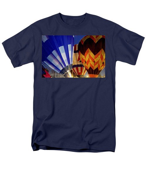 Men's T-Shirt  (Regular Fit) featuring the photograph Firing Up by Kathy Bassett