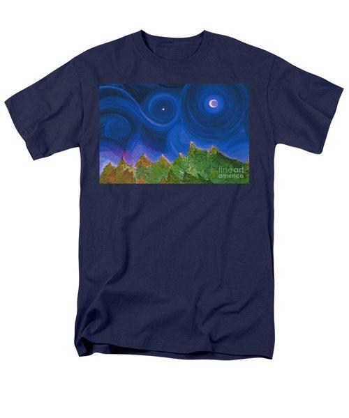 First Star Wish By Jrr Men's T-Shirt  (Regular Fit) by First Star Art