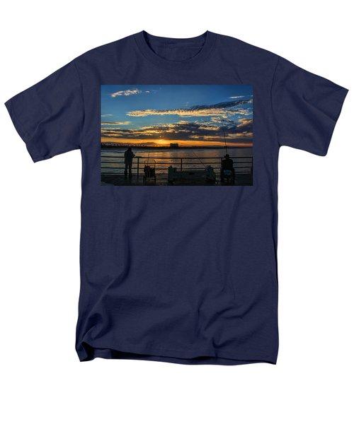 Fishermen Morning Men's T-Shirt  (Regular Fit) by Tammy Espino