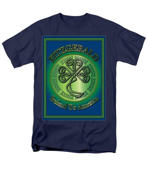 Fitzgerald Ireland To America Men's T-Shirt  (Regular Fit) by Ireland Calling