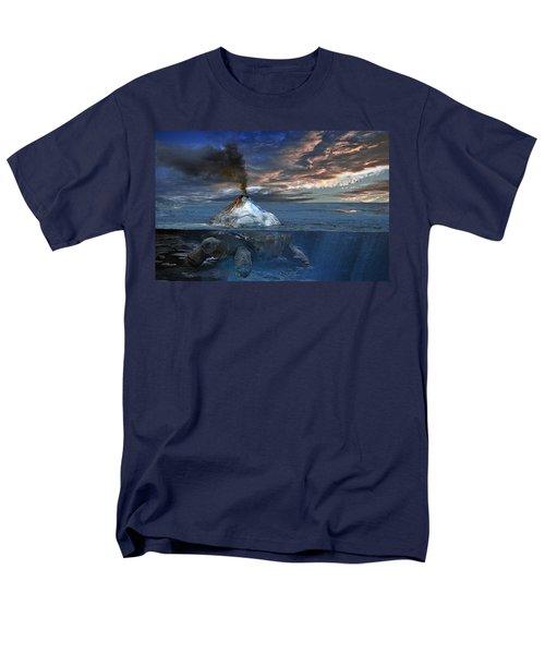 Flint Men's T-Shirt  (Regular Fit) by Rick Mosher