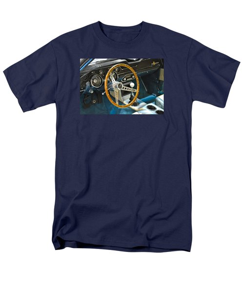 Ford Mustang Shelby Men's T-Shirt  (Regular Fit) by Pamela Walrath