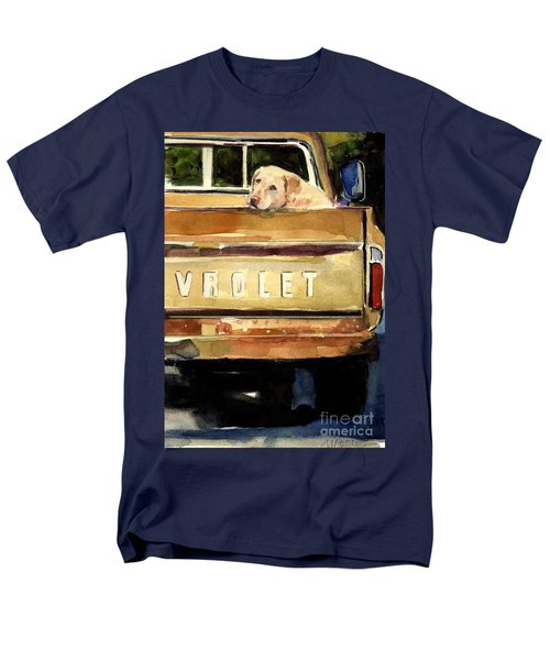 Free Ride Men's T-Shirt  (Regular Fit) by Molly Poole