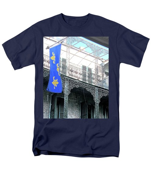 Men's T-Shirt  (Regular Fit) featuring the photograph French Quarter Nola by Lizi Beard-Ward