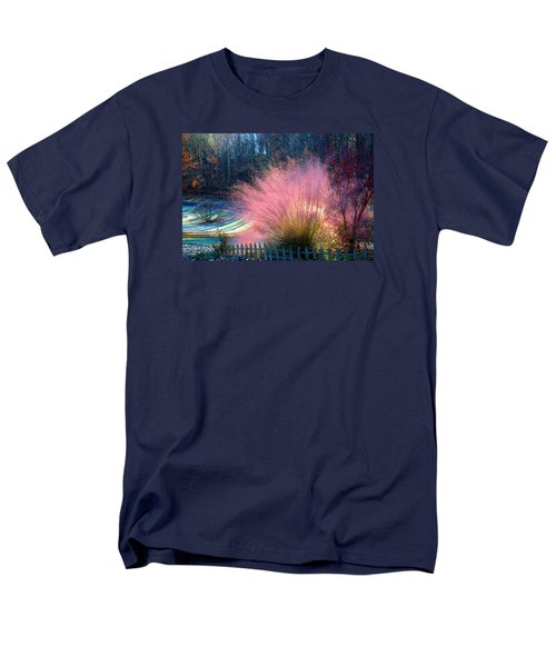 Frosty Scene Men's T-Shirt  (Regular Fit) by Kathryn Meyer