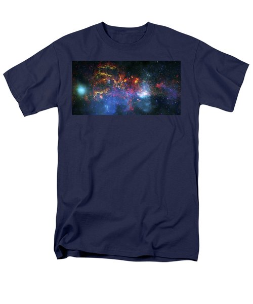 Galactic Storm Men's T-Shirt  (Regular Fit) by Jennifer Rondinelli Reilly - Fine Art Photography