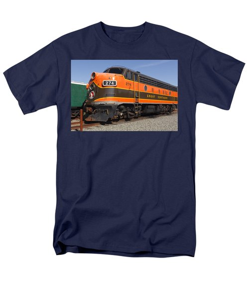 Garibaldi Locomotive Men's T-Shirt  (Regular Fit) by Wes and Dotty Weber