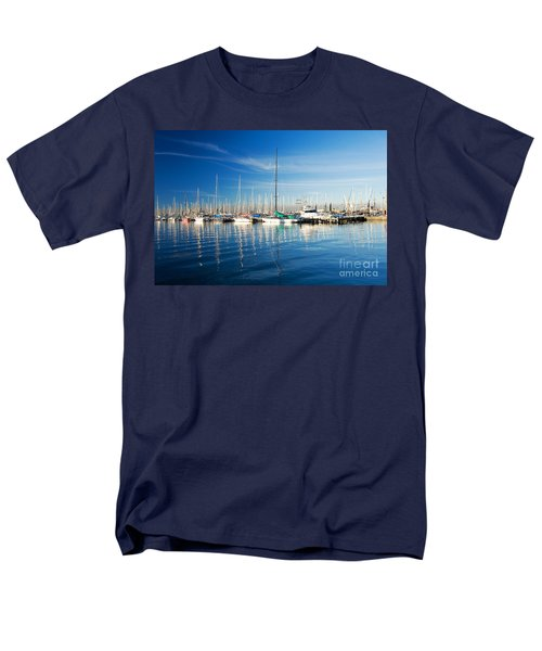 Gem Pier Of Williamstown Men's T-Shirt  (Regular Fit) by Yew Kwang