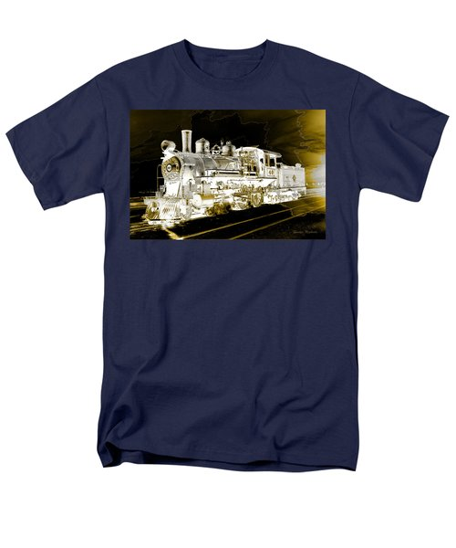 Ghost Train Men's T-Shirt  (Regular Fit) by Gunter Nezhoda