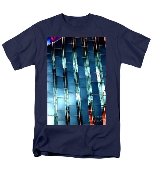Men's T-Shirt  (Regular Fit) featuring the photograph Glass House II by Christiane Hellner-OBrien