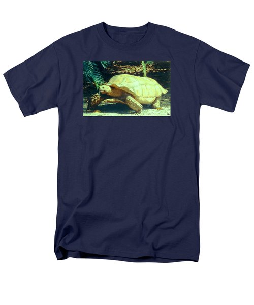 Golden Galapagos  Men's T-Shirt  (Regular Fit) by Belinda Lee
