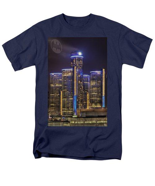 Gotham Detroit Men's T-Shirt  (Regular Fit) by Nicholas  Grunas