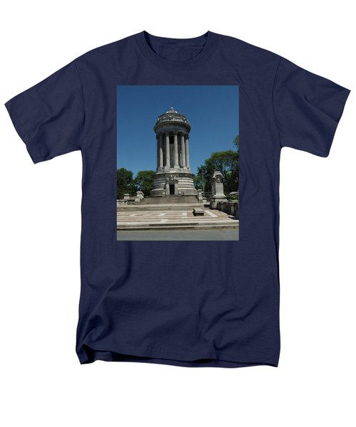 Men's T-Shirt  (Regular Fit) featuring the photograph Soldier's And Sailor's Monument New York City by Tom Wurl