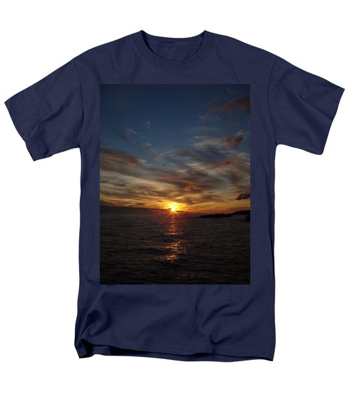 Men's T-Shirt  (Regular Fit) featuring the photograph Gull Rise by Bonfire Photography