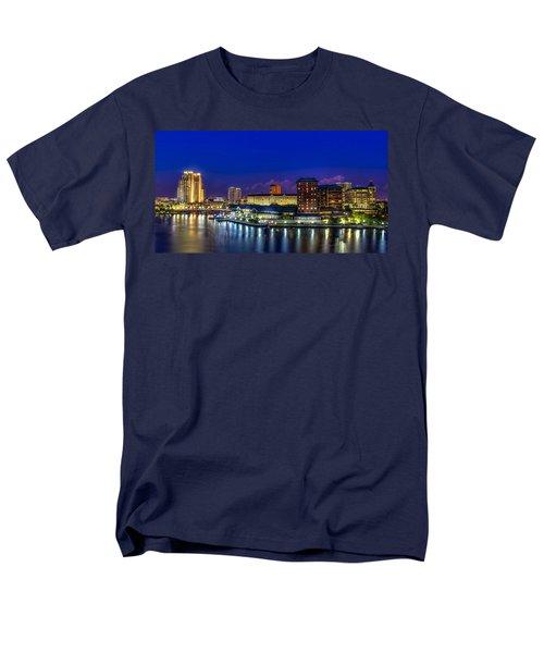 Harbor Island Nightlights Men's T-Shirt  (Regular Fit) by Marvin Spates
