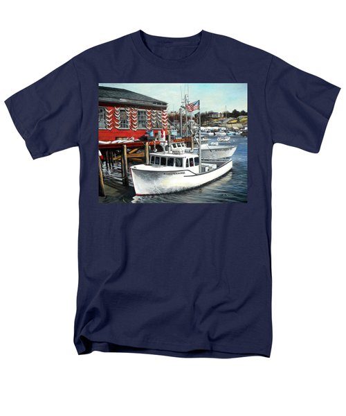 Hard Merchandise Rocky Neck Men's T-Shirt  (Regular Fit) by Eileen Patten Oliver