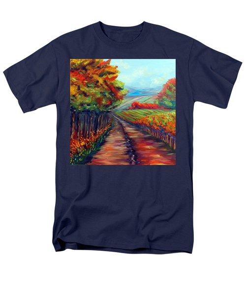 Men's T-Shirt  (Regular Fit) featuring the painting He Walks With Me by Meaghan Troup