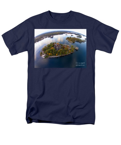 Heart Island George Boldt Castle Men's T-Shirt  (Regular Fit) by Tony Cooper