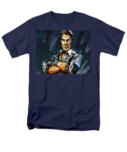 Hey Vault Hunter Handsome Jack Here Men's T-Shirt  (Regular Fit) by Joe Misrasi