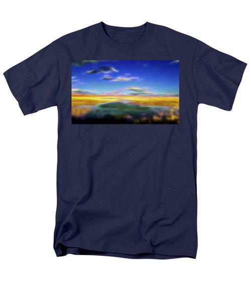 High Desert Lake Men's T-Shirt  (Regular Fit) by William Horden