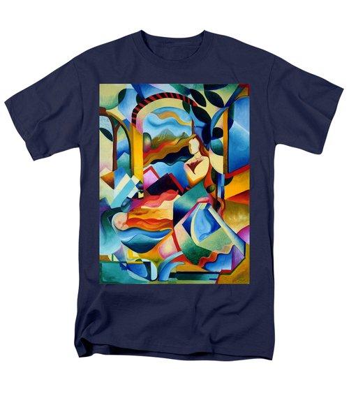 High Sierra Men's T-Shirt  (Regular Fit) by Sally Trace
