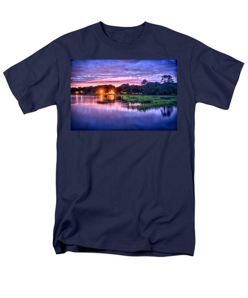 Hilton Head Evening Marsh Men's T-Shirt  (Regular Fit)