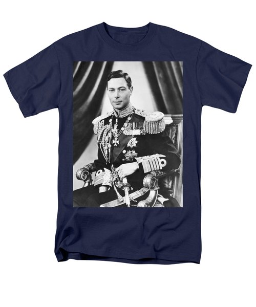 His Majesty King George Vi Men's T-Shirt  (Regular Fit) by Underwood Archives