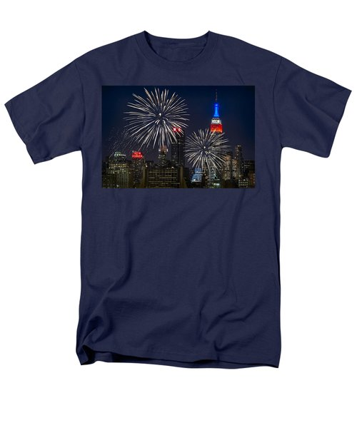 Independence Day Men's T-Shirt  (Regular Fit) by Eduard Moldoveanu