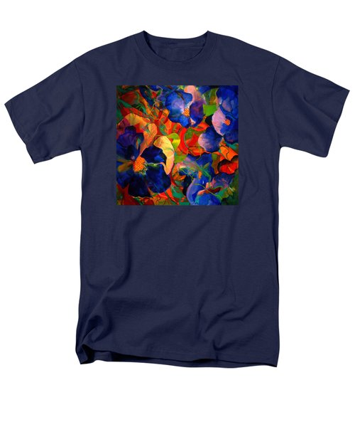 Men's T-Shirt  (Regular Fit) featuring the painting Inner Fire by Georg Douglas