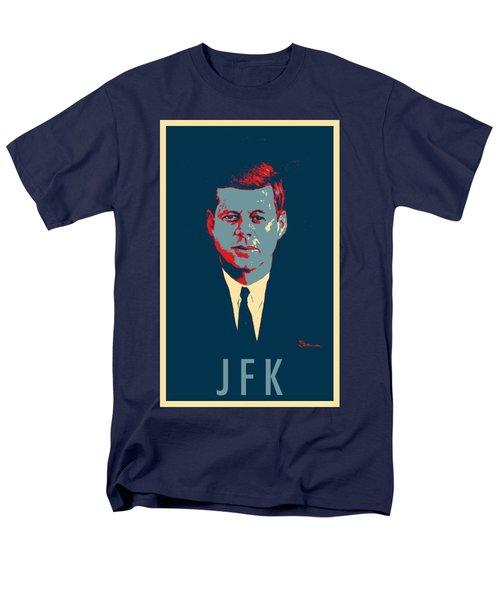 J F K In Hope Men's T-Shirt  (Regular Fit) by Rob Hans