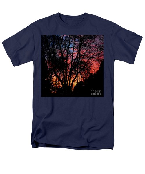 Men's T-Shirt  (Regular Fit) featuring the photograph January Dawn by Luther Fine Art