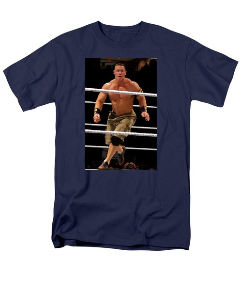 John Cena In Action Men's T-Shirt  (Regular Fit) by Paul  Wilford