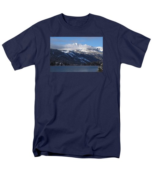 June Lake Winter Men's T-Shirt  (Regular Fit) by Duncan Selby