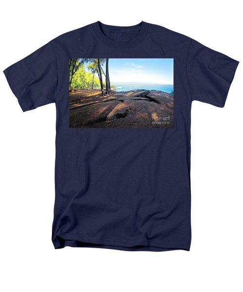 Men's T-Shirt  (Regular Fit) featuring the photograph Kaloli Point 3 by Ellen Cotton