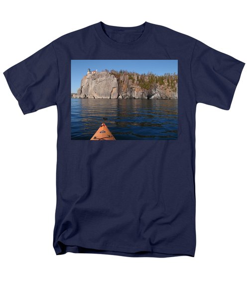 Men's T-Shirt  (Regular Fit) featuring the photograph Kayaking Beneath The Light by James Peterson