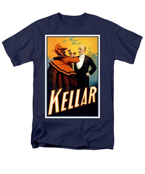 Kellar Toasts The Devil Men's T-Shirt  (Regular Fit) by Terry Reynoldson
