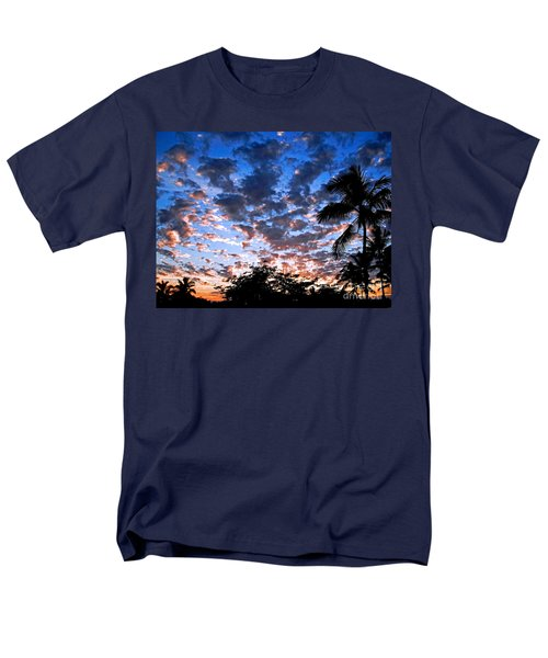 Men's T-Shirt  (Regular Fit) featuring the photograph Kona Sunset by David Lawson