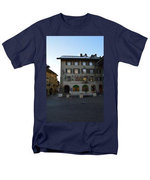 Men's T-Shirt  (Regular Fit) featuring the photograph Kronenplatz by Felicia Tica