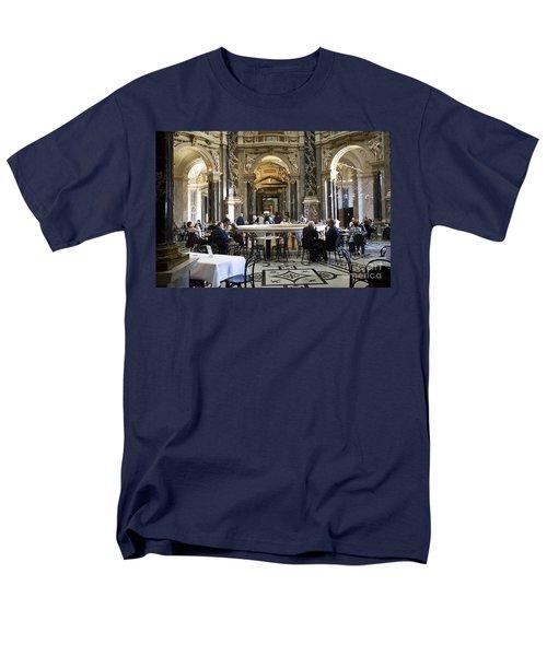 Kunsthistorische Museum Cafe II Men's T-Shirt  (Regular Fit) by Madeline Ellis