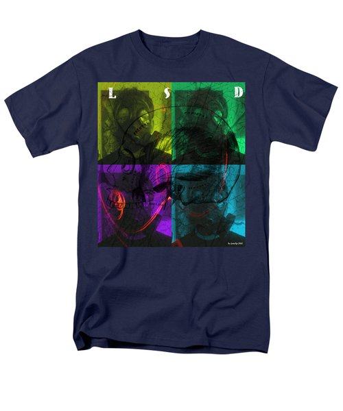 Men's T-Shirt  (Regular Fit) featuring the photograph L S D  Part One by Sir Josef - Social Critic - ART