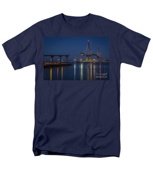 La Pepa Bridge Cadiz Spain Men's T-Shirt  (Regular Fit) by Pablo Avanzini