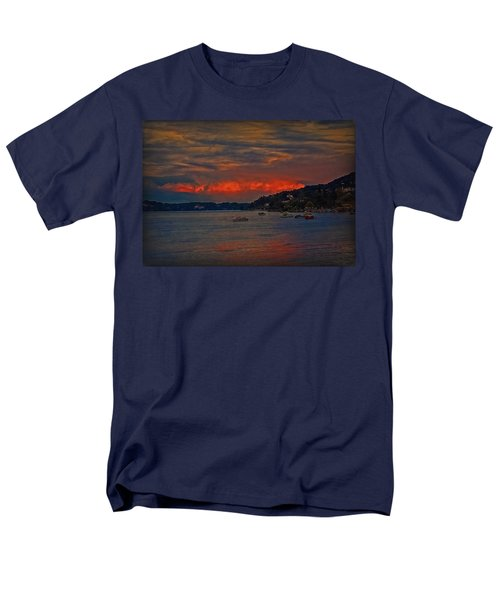 Men's T-Shirt  (Regular Fit) featuring the photograph Lago Maggiore by Hanny Heim