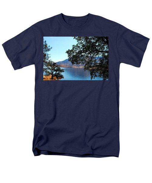 Lake Isabella Men's T-Shirt  (Regular Fit) by Matt Harang