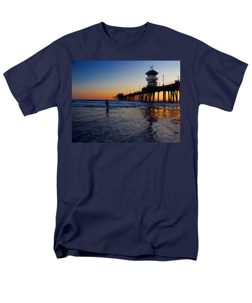 Last Wave Men's T-Shirt  (Regular Fit) by Tammy Espino