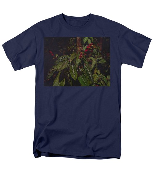 Men's T-Shirt  (Regular Fit) featuring the painting Leaving Monroe by Thu Nguyen